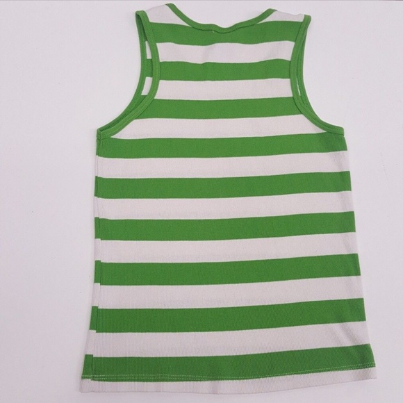 Faded Glory Other - FADED GLORY Girls Striped Green White Tanks